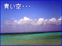 青い空・・・